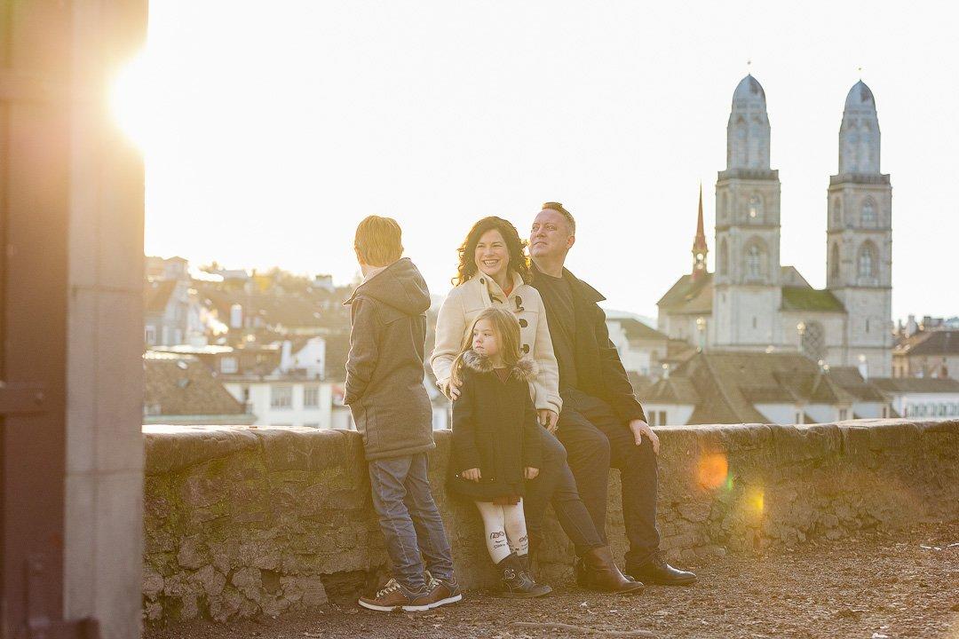 Familien Fotografie im Lindenhof