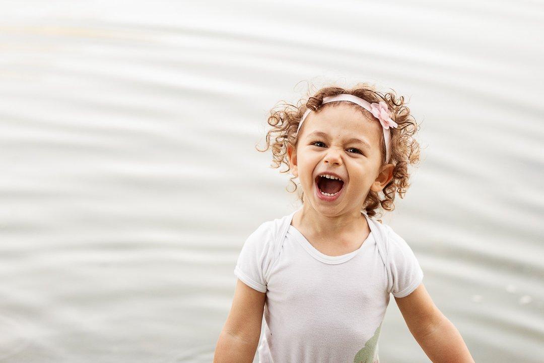 little girls screaming with joy at Irchelpark Zürich